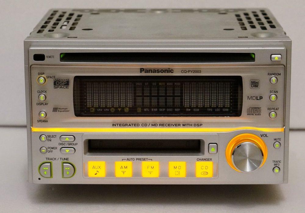 PANASONIC CQ-PY2003 CD/MD 车载播放机