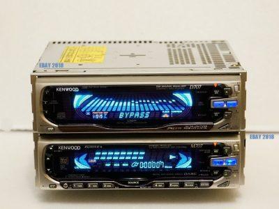 KENWOOD D707 & M707 MD/CD 车载播放机