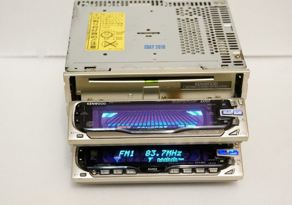 KENWOOD D707 & M707 MD/CD 车载播放机