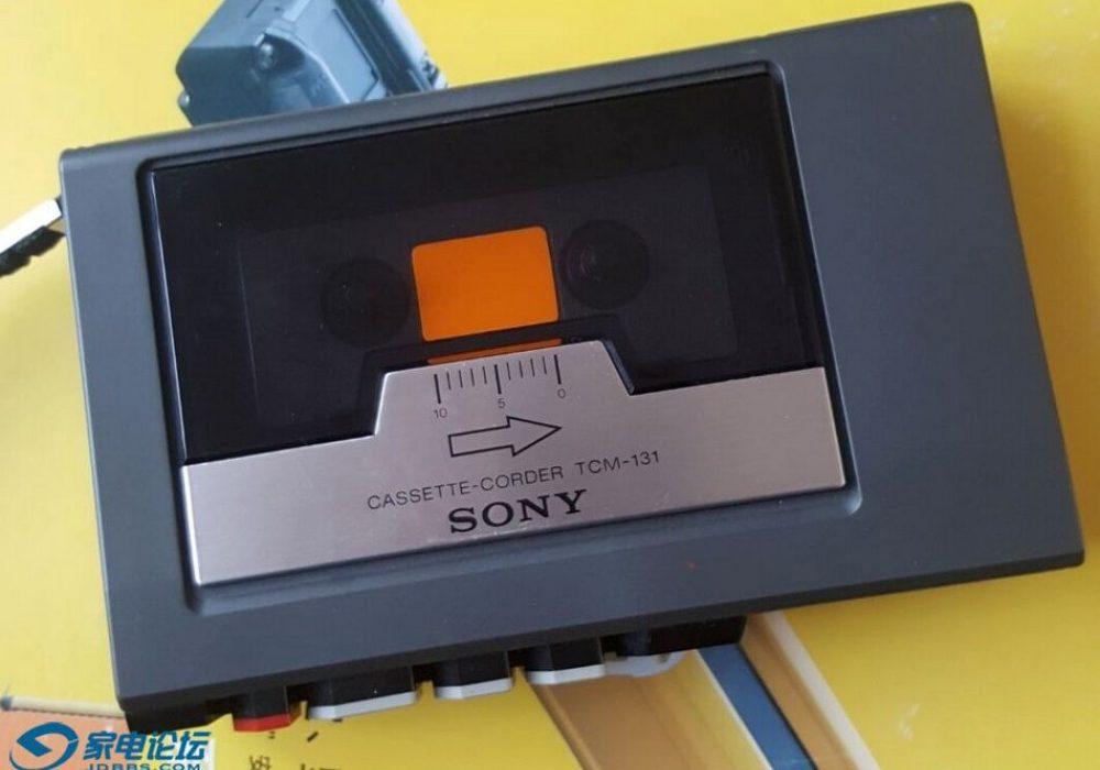 SONY TCM-131 磁带录音机