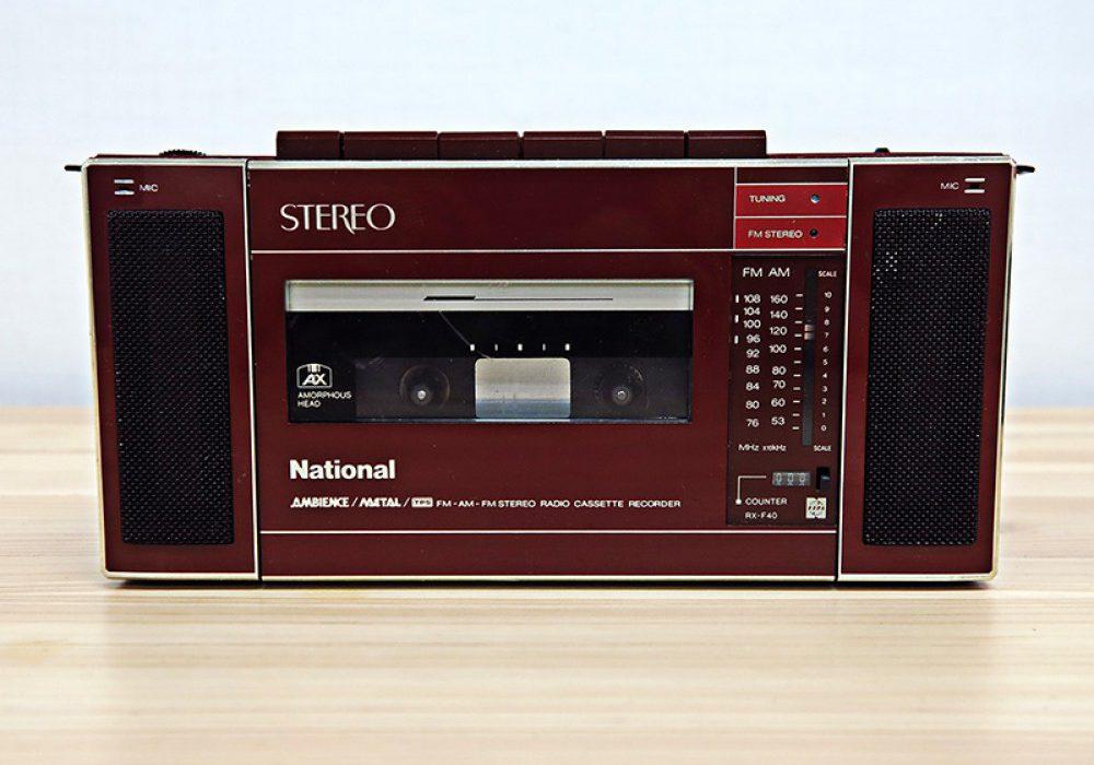 수집품 – National RX-F40