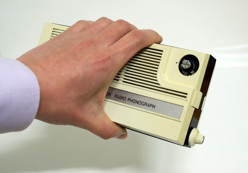 수집품 – SUPER MIDGET 7 TRANSISTOR RADIO PHONOGRAPH