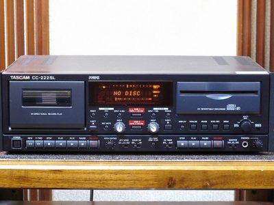 TASCAM CC-222SL 磁带/CD播放 卡座一体机