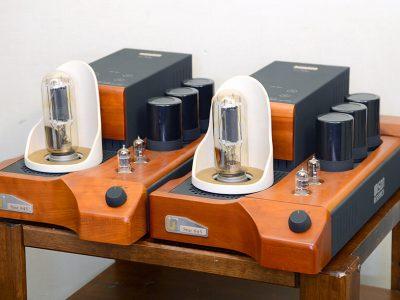 動作品 Unison Research ユニゾンリサーチ Smt 845 真空管モノラルパワーアンプ ペア 管球式パワーアンプ