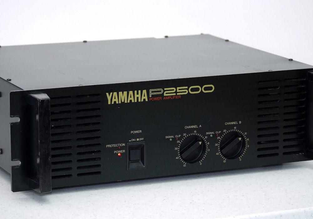 YAMAHA P2500 Professional PA 后级放大器