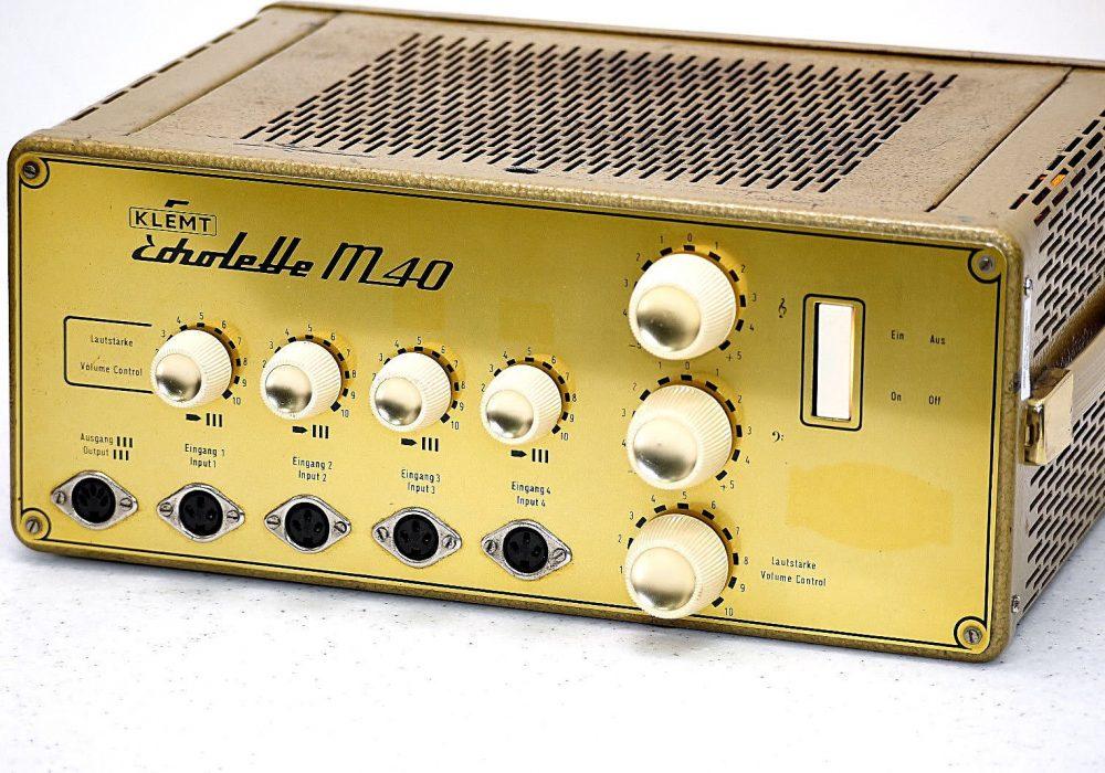 Klemt Echolette M40 电子管功放