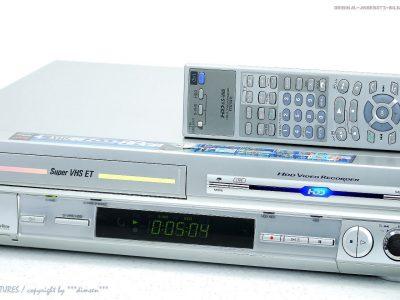 JVC HM-HDS4 S-VHS Videorecorder 80GB HDD/Festplatte + FB!! Gewartet+1J.Ga<wbr/>rantie!