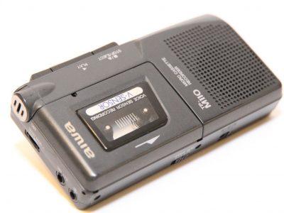 爱华 AIWA TP-M110 Dictaphone 微型磁带录音机