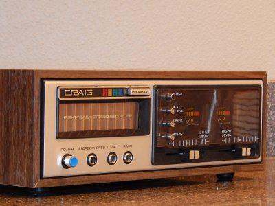 先锋 PIONEER Craig 3307 8轨磁带 卡座
