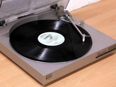 索尼 SONY PS-LX20 Hi-Fi 黑胶唱机