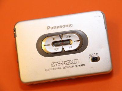 松下 PANASONIC RQ-SX20 Dolby S-XBS 磁带随身听