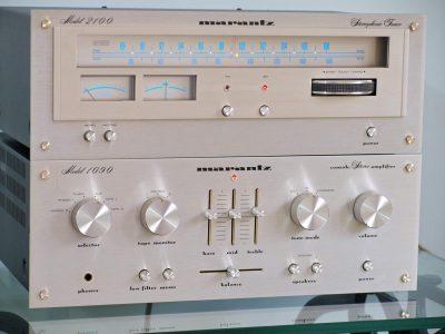 马兰士 Marantz 1090 功率放大器 + Marantz 2100 收音头