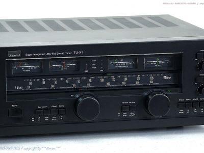 SANSUI TU-X1 High-End Super Integrated AM/FM 立体声 Tuner! Gewartet+1J.Ga<wbr/>rantie!