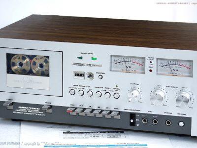 AKAI GXC-730D 古董 磁带卡座 Maschine Top-Zust+BDA! Revidiert+1J.G<wbr/>arantie