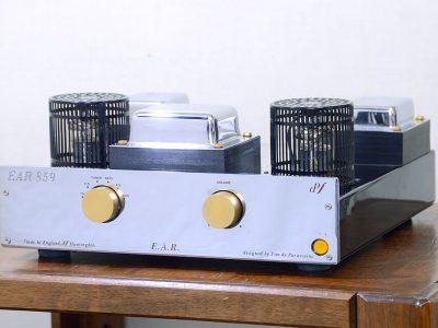 動作品 EAR EAR859 真空管プリメインアンプ/ラインアンプ メンテナンス済 EL519/ティムデパラビッチーニ