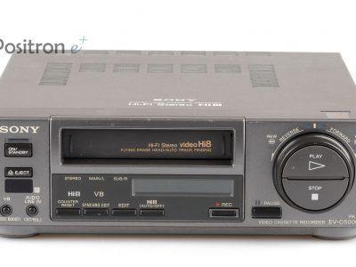 索尼 SONY EV-C500 - Video8 / Hi8-录音机 + geprüft, 1 Jahr Garantie +
