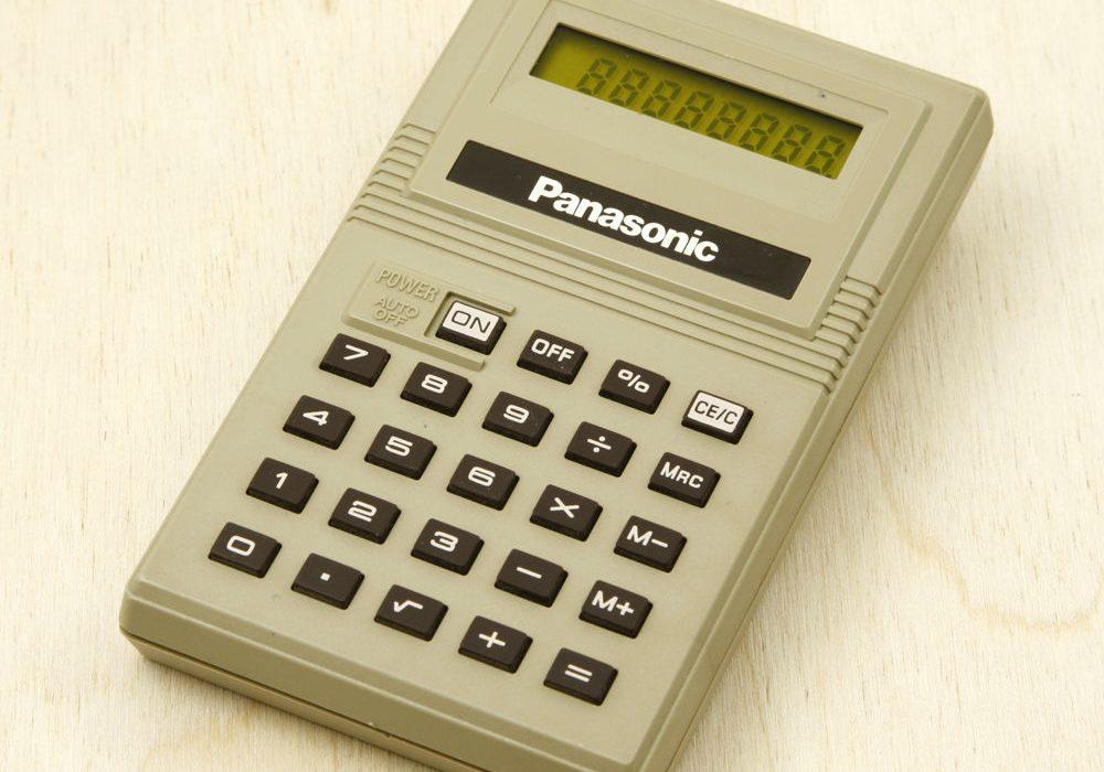 松下 Panasonic JE-8380U 计算器