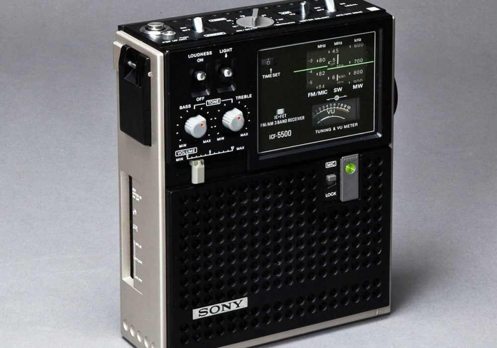 SONY ICF-5500 BCL 收音机