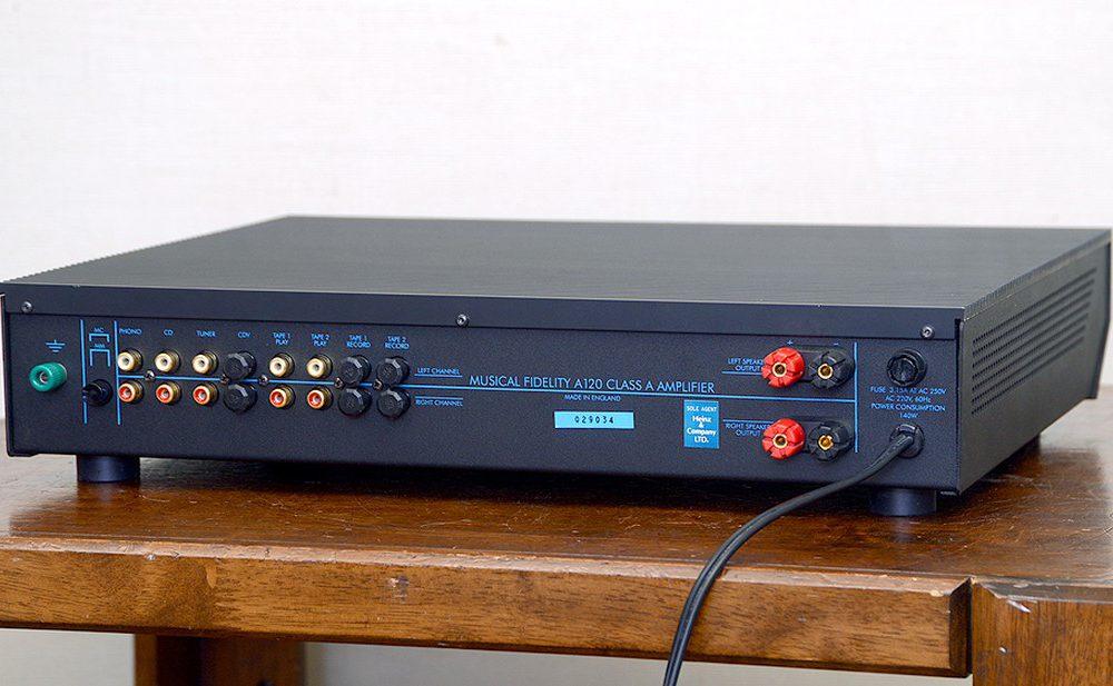 MUSICAL FIDELITY A120 功率放大器