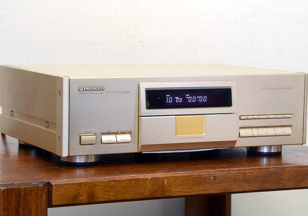 Pioneer PD-T07HS Limited CD播放机