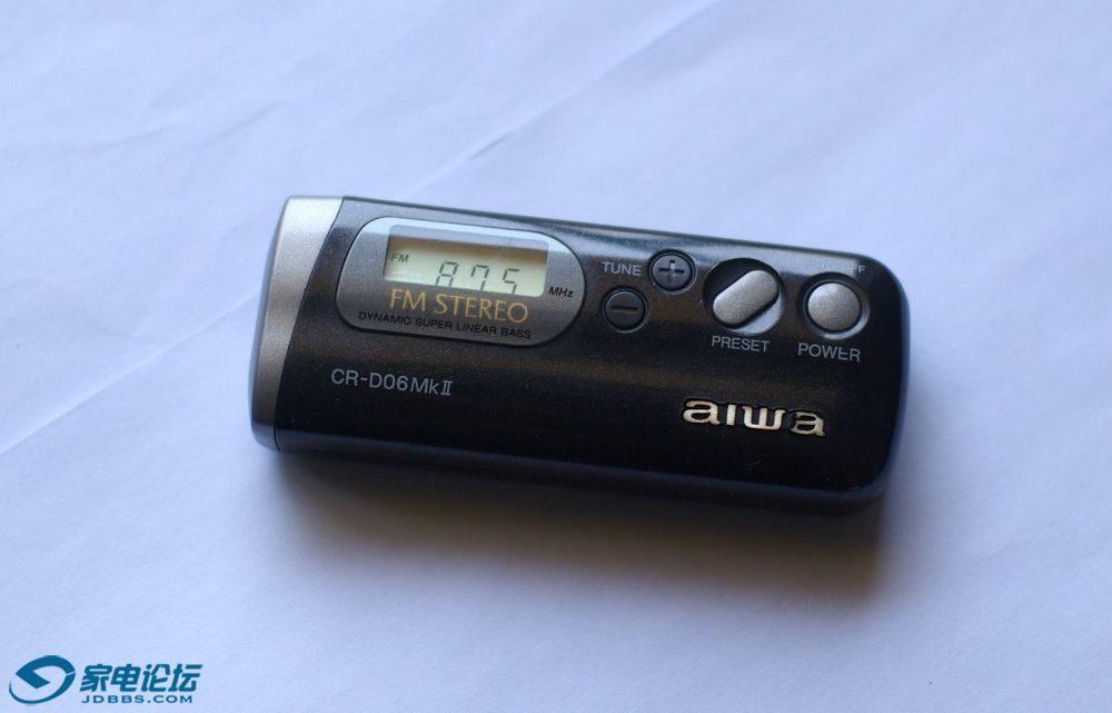 爱华 aiwa CR-D06mk2 + 三洋 SANYO RP42 迷你收音机