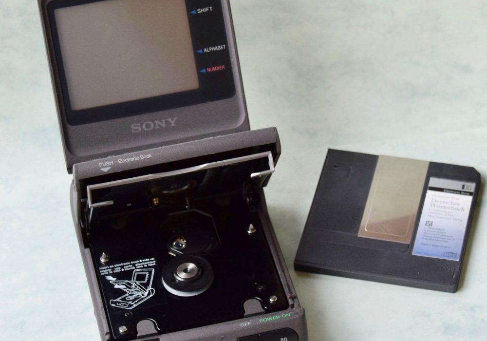 索尼 SONY DD-1EX Data Discman – Electronic Book Player