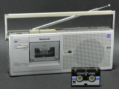 National RN-Z500 FM/AM 微型磁带收录机