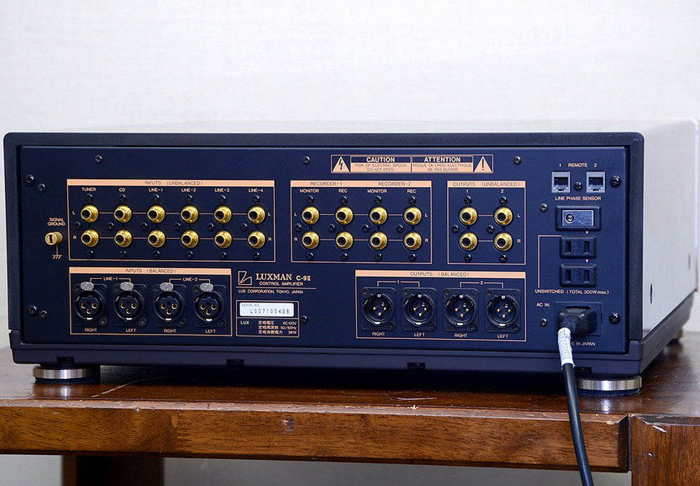 LUXMAN C-9II 功率放大器
