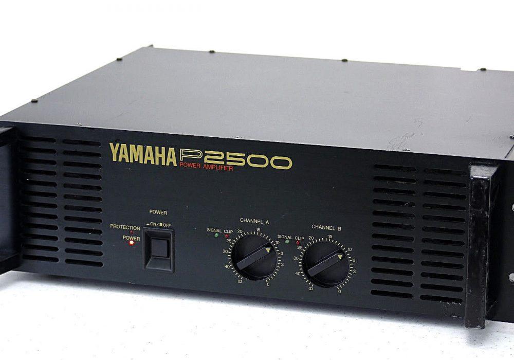 YAMAHA P2500 Professional PA 功率放大器