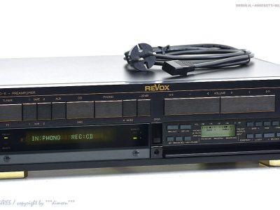 REVOX/STUDER B240-S High-End 前级放大器