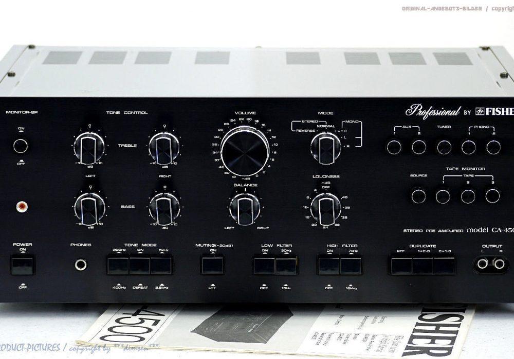 FISHER CA-4500 Professional PreControl 功率放大器