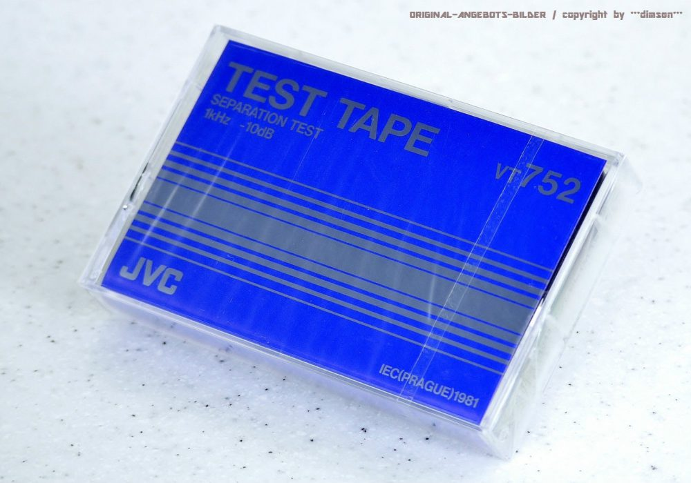 JVC VT752 测试录音带