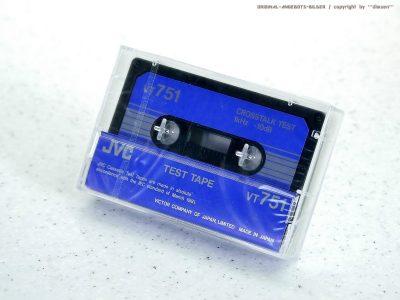 JVC VT751 测试录音带