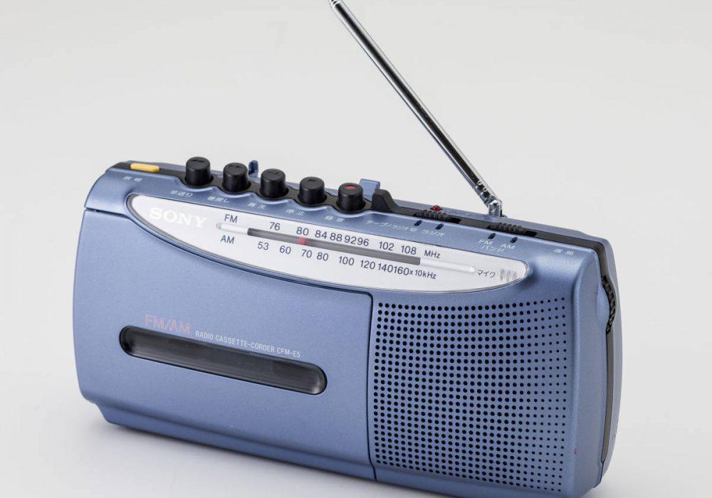 SONY CFM-E5 小型收录机