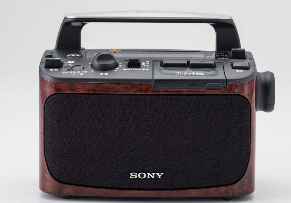 SONY ICF-A55V TV/FM/AM 3BANDS 收音机