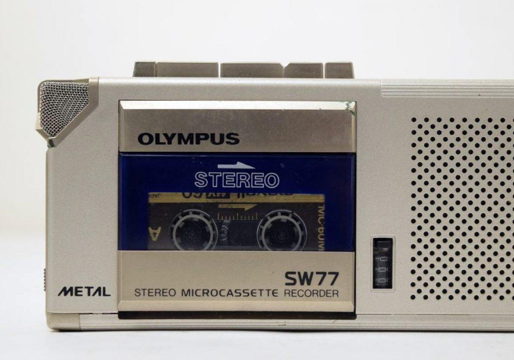 Olympus SW77 微型磁带录音机