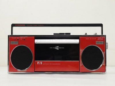 PIONEER SK-Q10 RD FM/AM 收录机