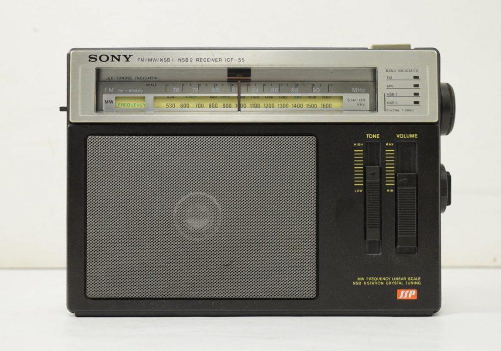 SONY ICF-S5 FM/MW 收音机