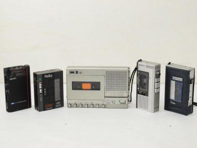 SONY OLYMPUS SEIKO 磁带随身听 微型磁带录音机
