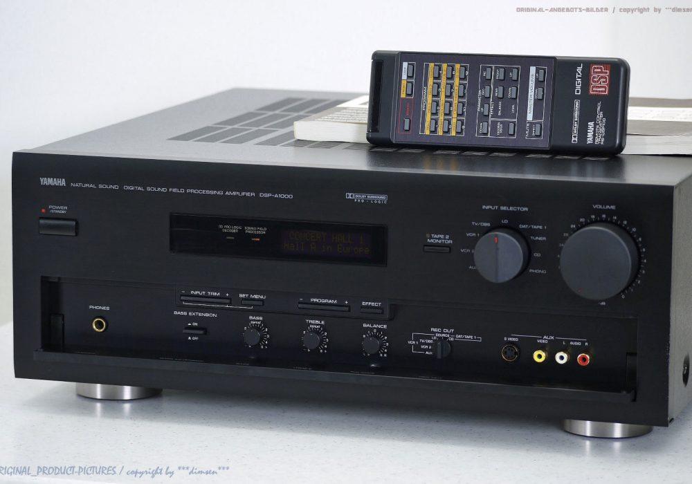YAMAHA DSP-A1000 Digital Sound Processing 功率放大器