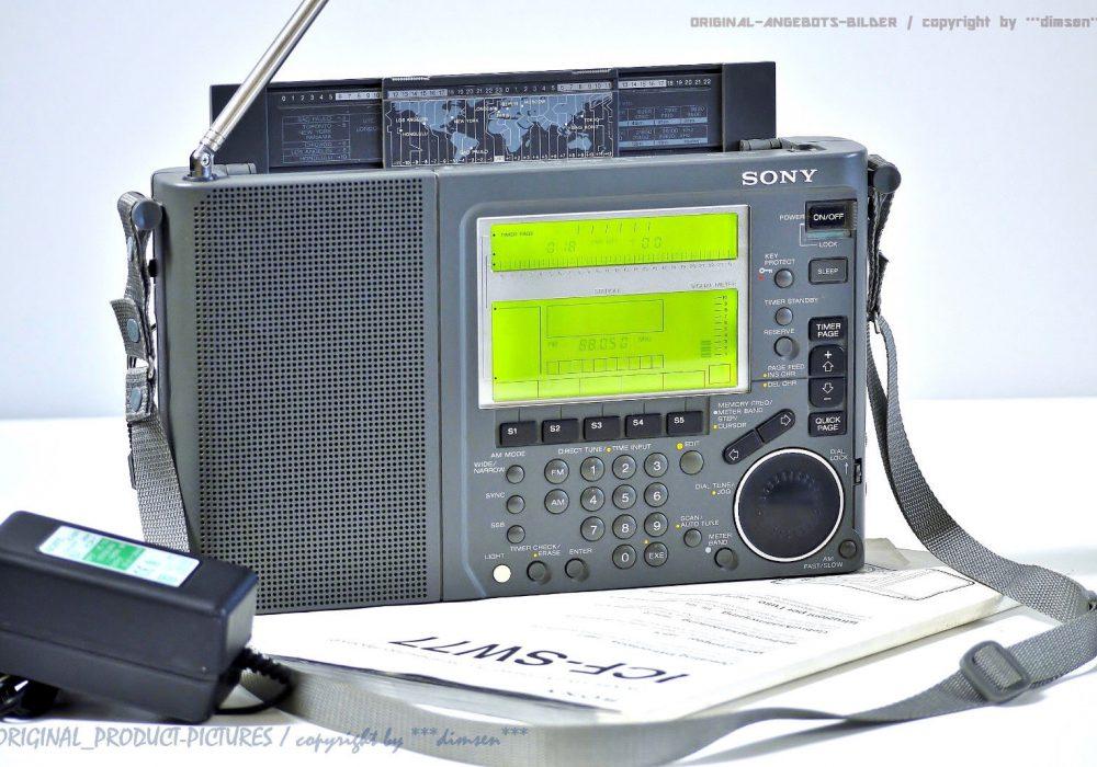 索尼 SONY ICF-SW77 收音机