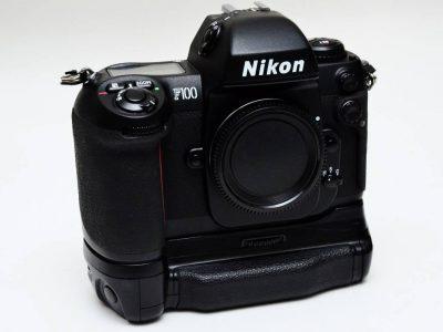 Nikon F100+バッテリーパックMB-15 ベロ出し改造済 美品