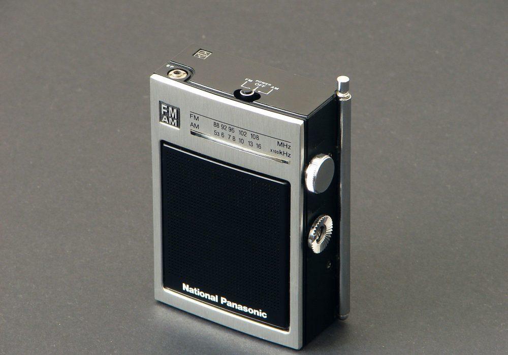 松下 National Panasonic RF-555S FM/AM 收音机