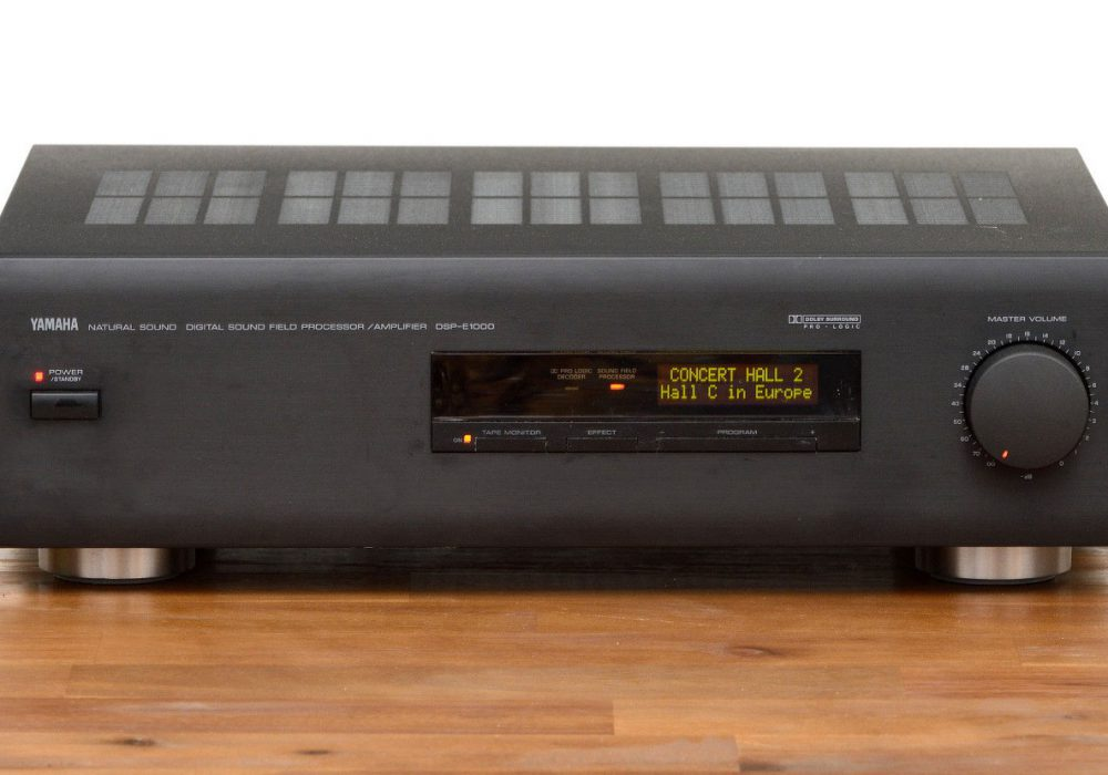 雅马哈 YAMAHA DSP-E1000 Digital 功率放大器