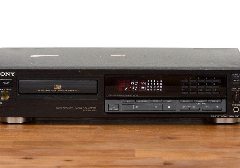 索尼 SONY CDP-690 CD播放机
