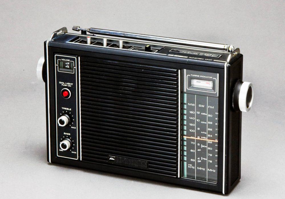 TOSHIBA MODEL RP750FT MW/SM/FM 收音机