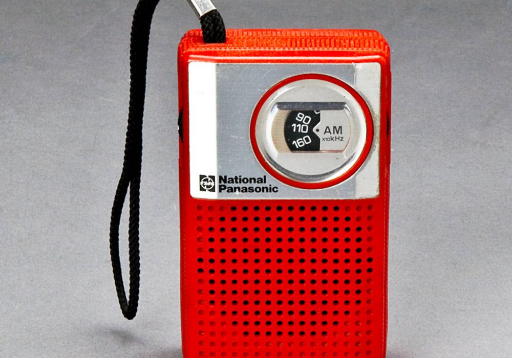 National Panasonic Model R-1016 迷你收音机
