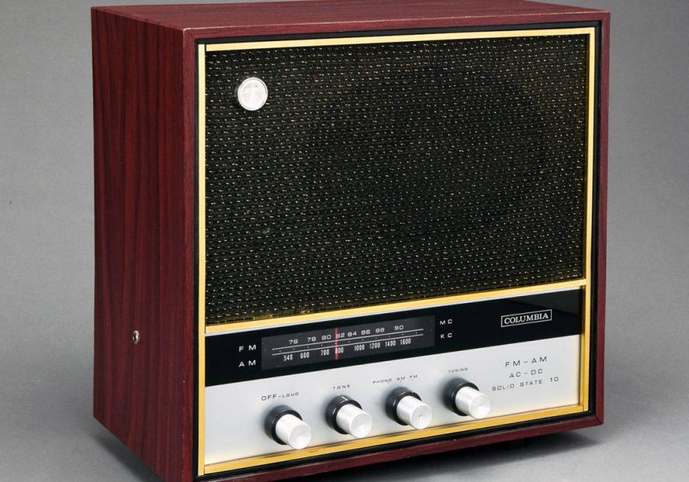 COLUMBIA MODEL TFC-100 AM/FM 收音机