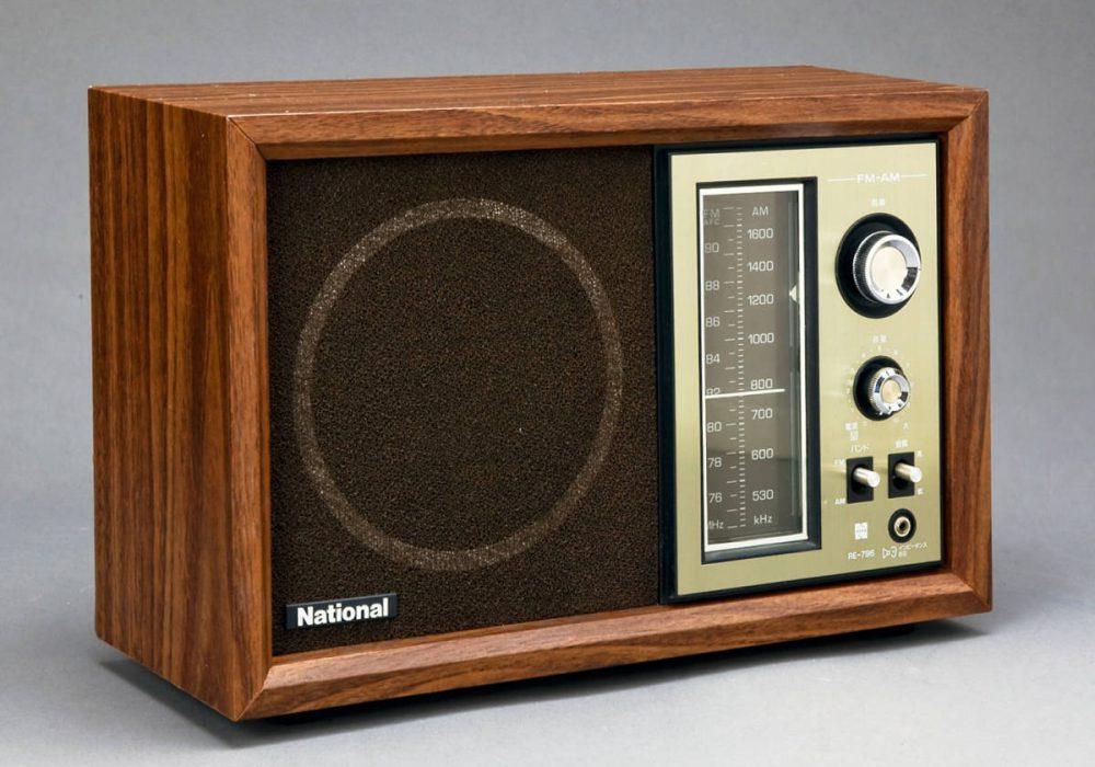 National RE-796 AM/FM 收音机