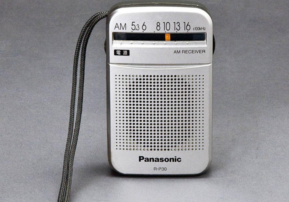 松下 R-P30 AM 迷你收音机